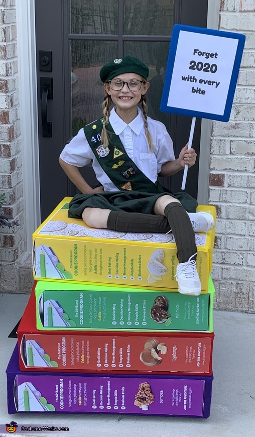Girl Scout Costume