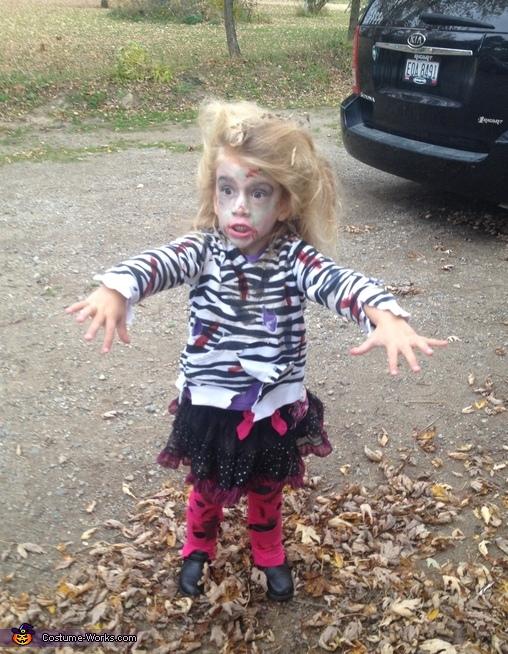 Girl Zombie Costume