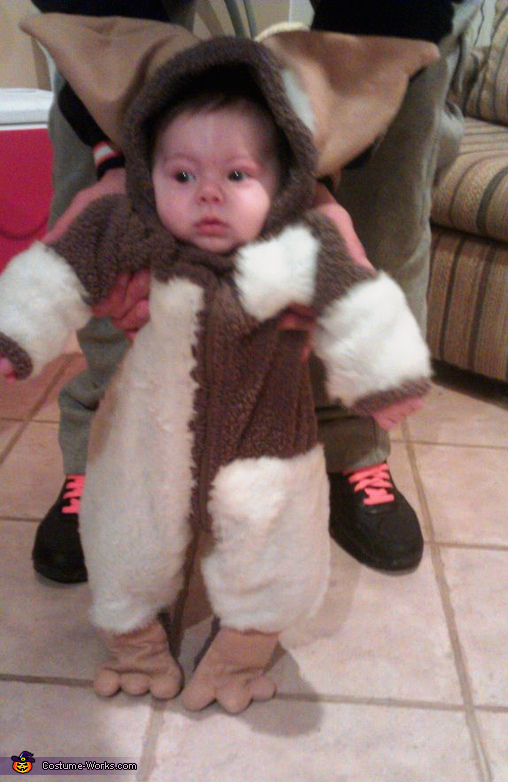 Gizmo Baby - Homemade costumes for babies