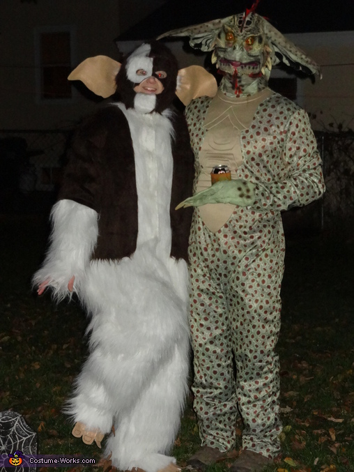 Gremlins Gizmo and Mohawk Costume