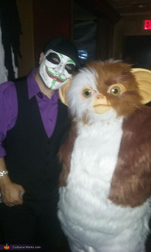 GIZMO WITH JOKER, Gizmo from Gremlins Costume