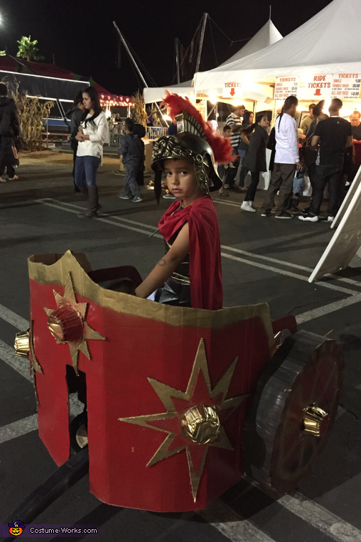 Gladiator in chariot, Gladiator Costumes