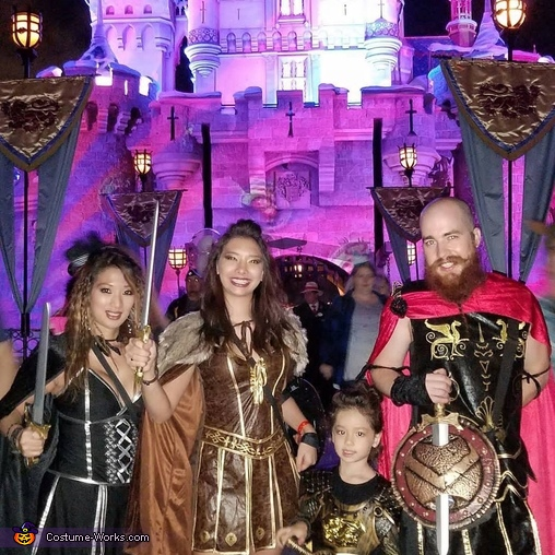 Gladiator Family Costume