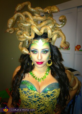 Glam Medusa Costume
