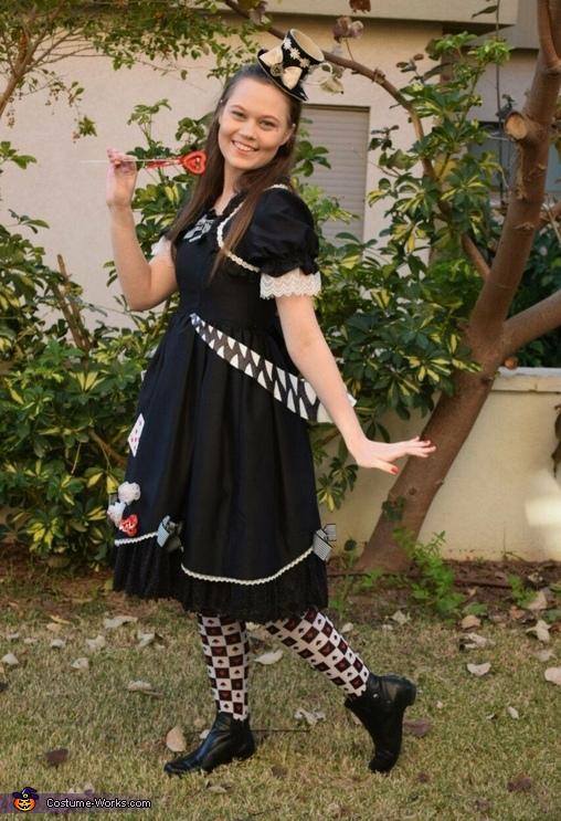 Glamorous Wonderland Homemade Costume