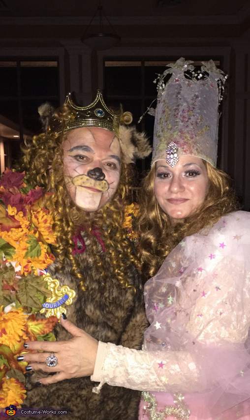 Glinda and Cowardly Lion Costume
