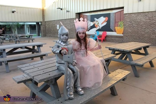 Glinda and Tin Man Costume