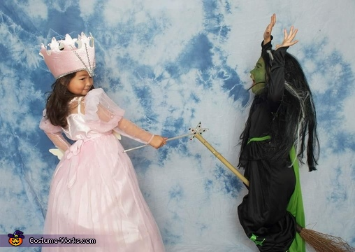 Glinda and Wicked Witch of the West Costume
