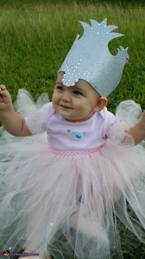 Every Girl needs a Crown, Glinda the Good Witch Baby Costume