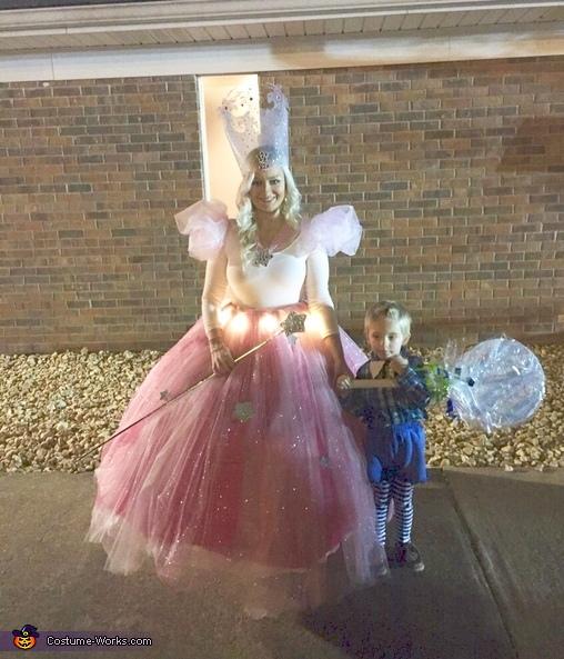 Glinda the Good Witch & Munchkin Costume