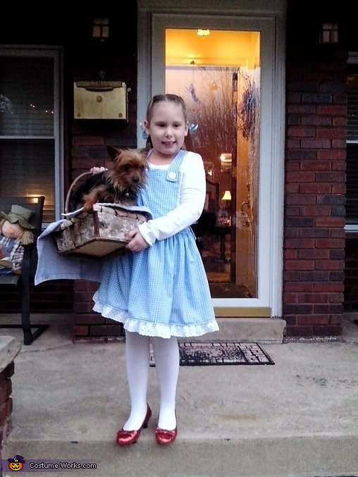 Dorothy (Ceci), Glinda the Good Witch & Scarecrow Costume
