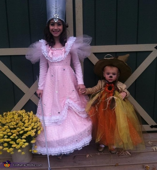 Glinda the Good Witch & Scarecrow Costume