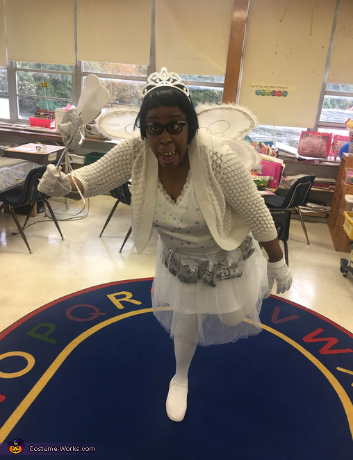 Glinda the Tooth Fairy Homemade Costume