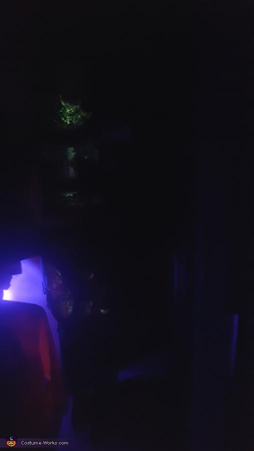 Venom. Glow in the dark, Glow in the dark Lady Venom Costume