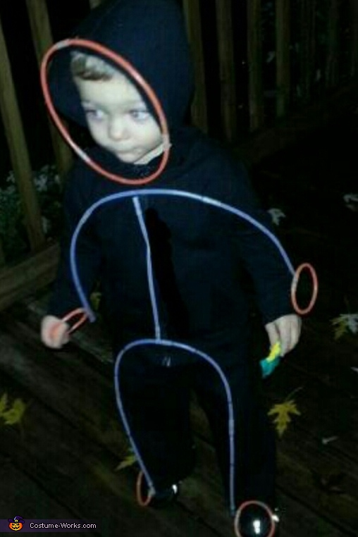 Glow Stick Figure Costume