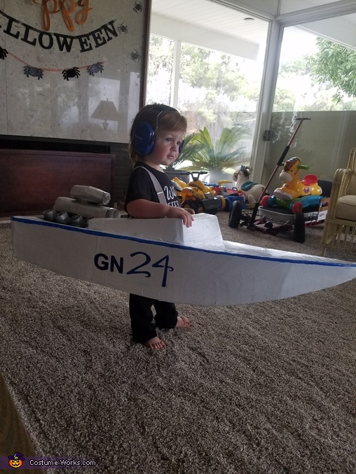 GN 24 Race Boat Driver Costume