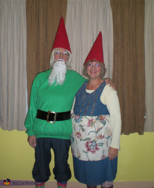 Gnome Couple - Homemade costumes for couples
