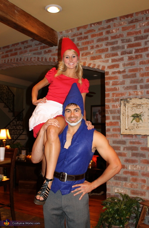 Gnomeo & Juliet - Homemade costumes for couples