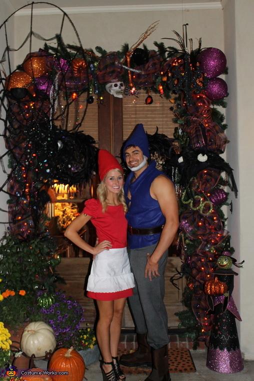 by the front door, Gnomeo & Juliet Costume