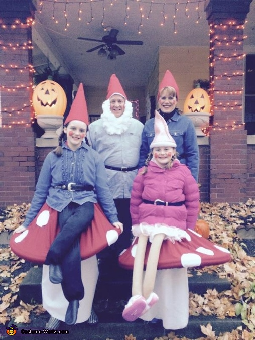 Hanging with my gnomies!, Gnomes on Toadstools Costume