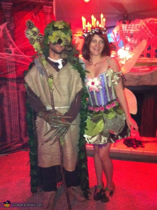 Go Green Fairy and the Goodwill Goblin Costume