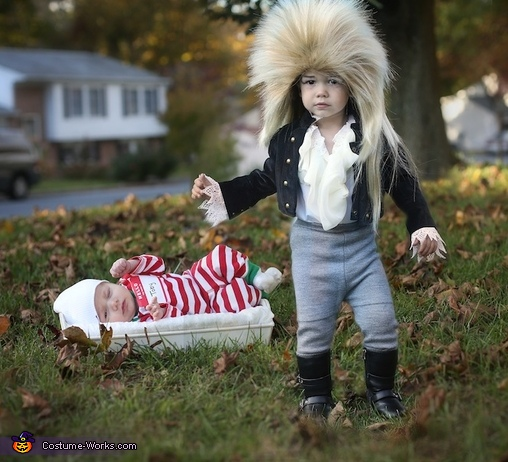 Goblin King and Toby Costume