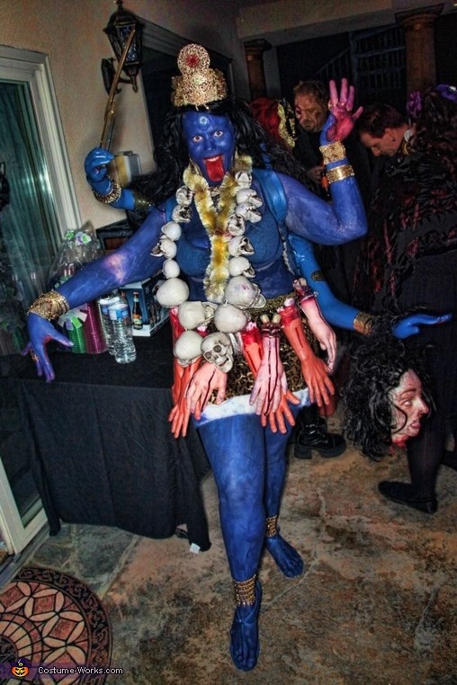 Goddess Kali - Homemade costumes for women