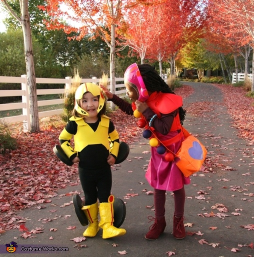 Go Go with her sister, GoGo Tomago Costume