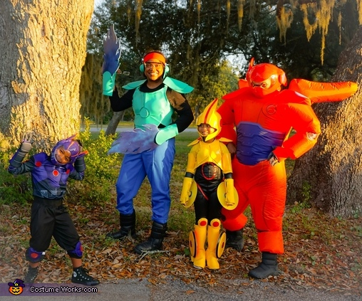 Our family-Big Hero 6, Gogo Tomago Costume