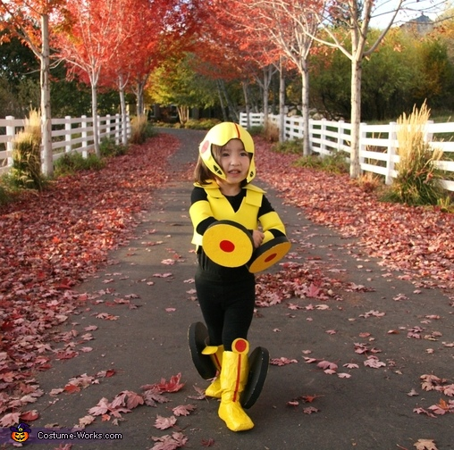 2 year old Go Go Tomago, GoGo Tomago Costume