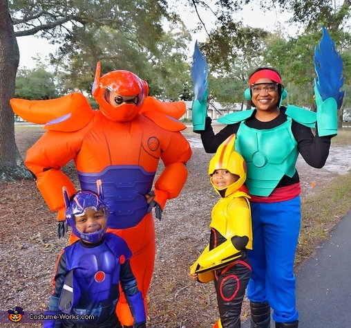 Our Family- Big Hero 6, Gogo Tomago Costume