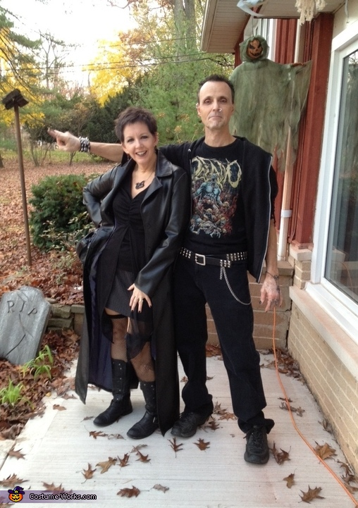 Goth Couple Costume