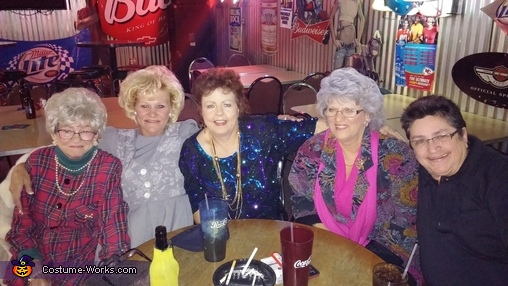 golden girls, The Golden Girls Group Costume