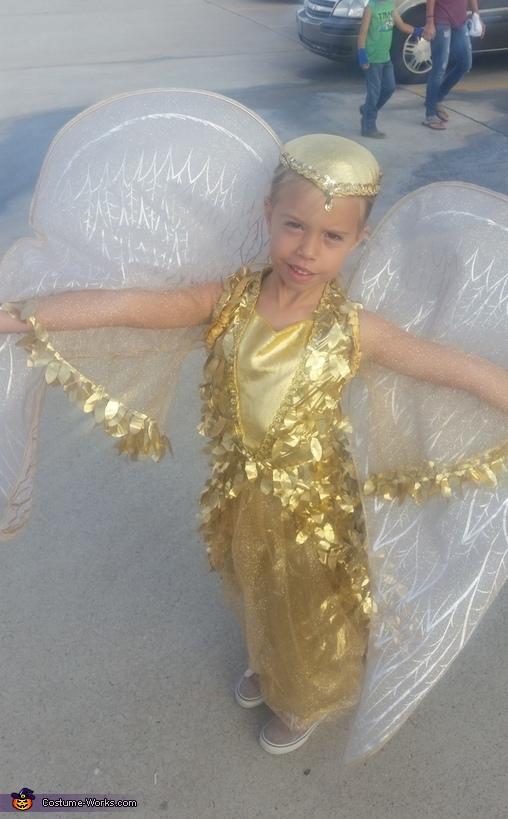 Golden Phoenix Homemade Costume