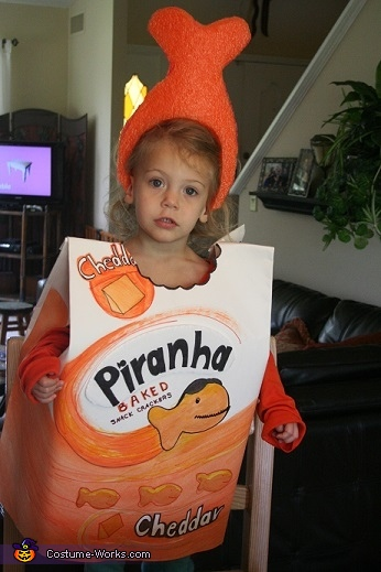 Goldfish Piranha Costume  sc 1 st  Costume Works & 65 Clever Halloween Costumes for Kids