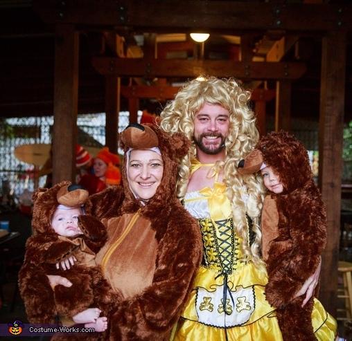 Goldilocks and the 3 Bears Costume