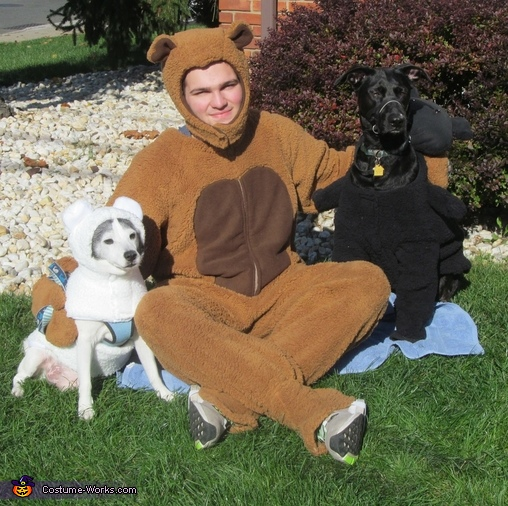 Goldilocks and The Three Bears Homemade Costume