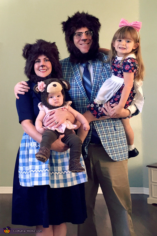 Goldilocks and the Three Bears Costume