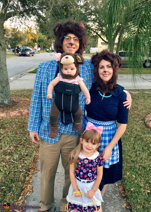 Goldilocks and the Three Bears, Goldilocks and the Three Bears Costume
