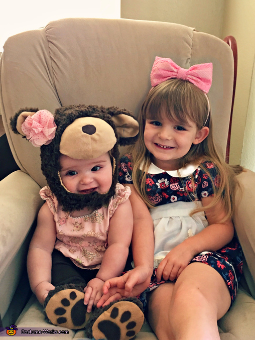 Goldilocks and Baby Bear, Goldilocks and the Three Bears Costume