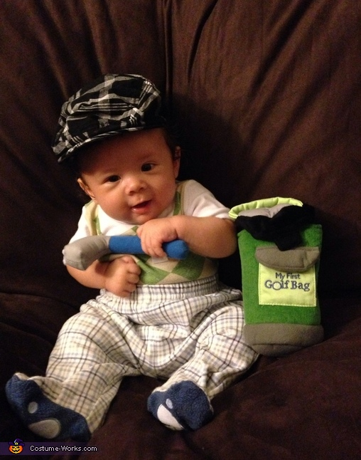Golf Phenom Baby Costume