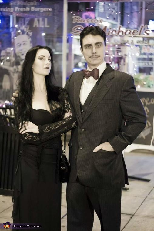 Gomez & Morticia Costume