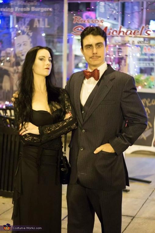 Gomez & Morticia Homemade Costume