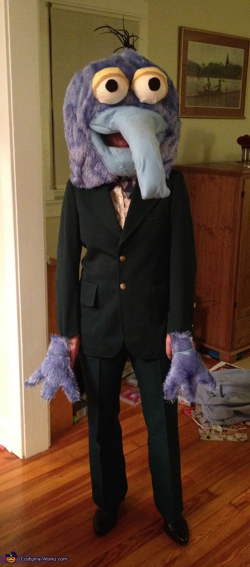 Homemade Gonzo Costume