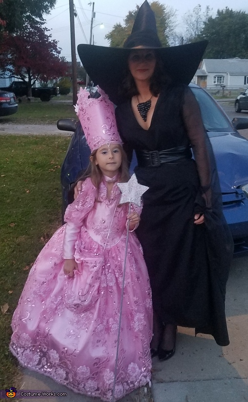 Good and Bad Witch of Wizard Of Oz Costume