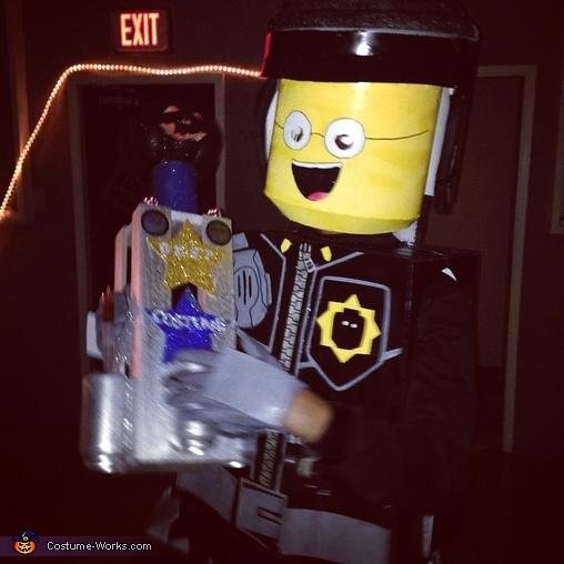 Good Cop / Bad Cop Lego Costume