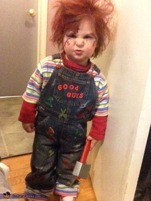 chucky makeup for baby mugeek vidalondon
