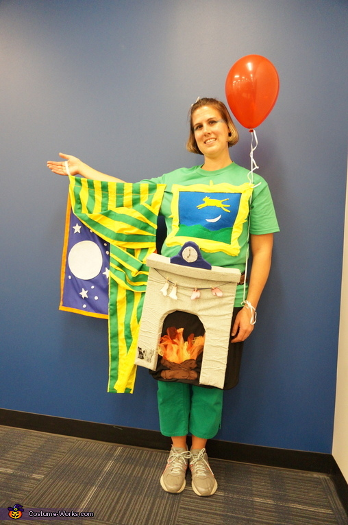 Goodnight Moon Homemade Costume
