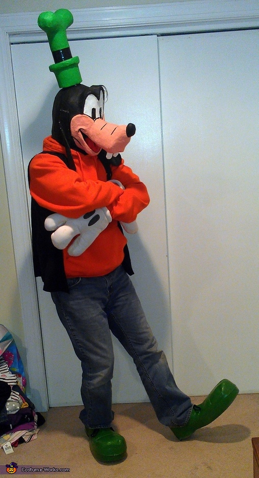 Just Goofing Around, Goofy Costume
