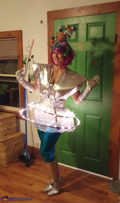 Googie Girl Homemade Costume